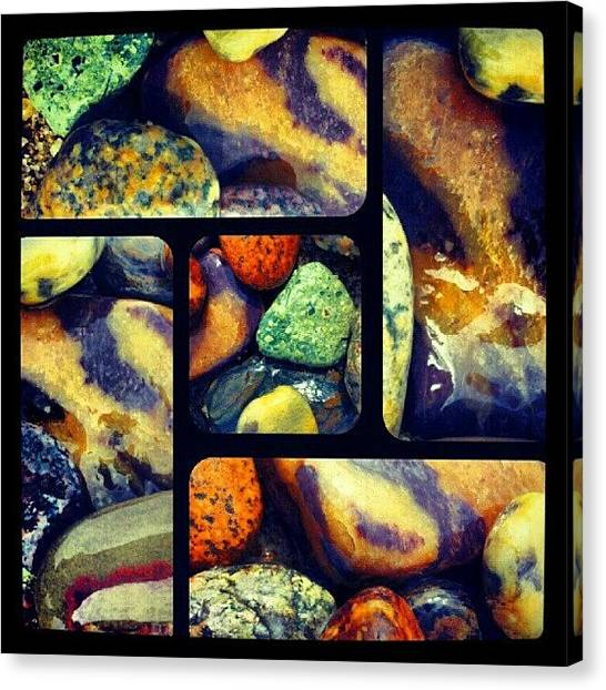 Geology Canvas Print - Man Made Mosaic by Stan Homato