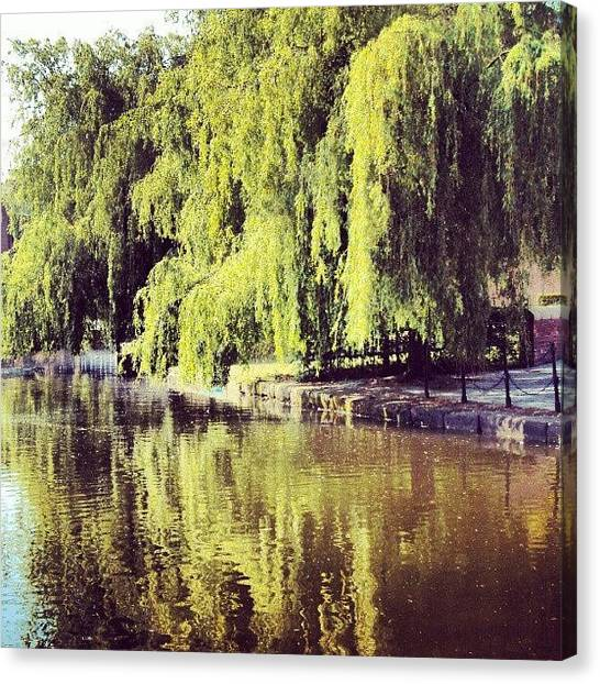 Rivers Canvas Print - #manchestercanal #canal #river by Abdelrahman Alawwad