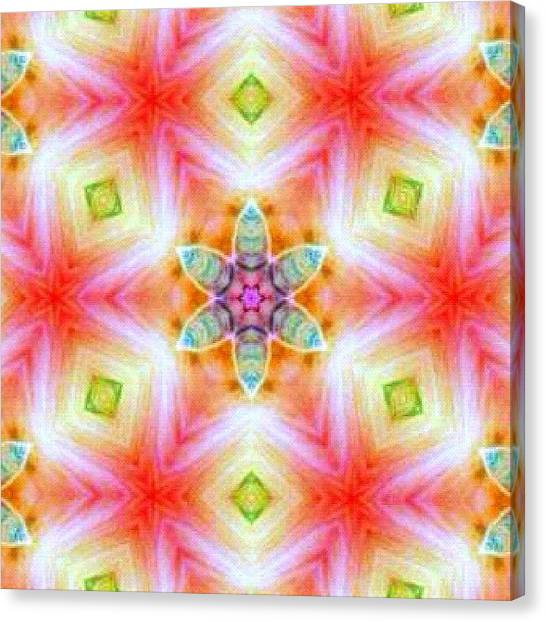 Fractal Canvas Print - #mandala #fractalart #picture On by Pixie Copley