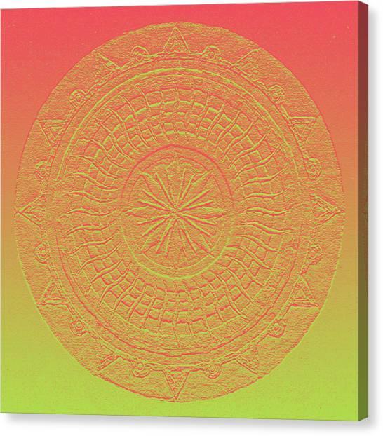 Mandala Meditation 2 V2 Canvas Print