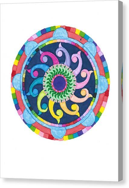 Mandala Meditation I Canvas Print