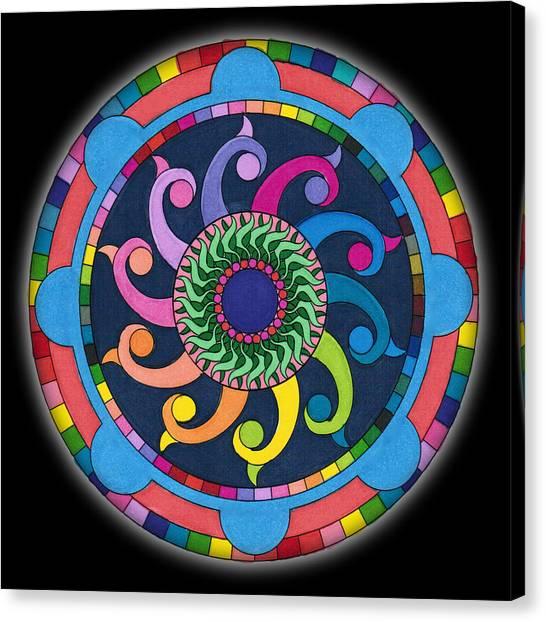 Mandala Meditation I V1 Canvas Print