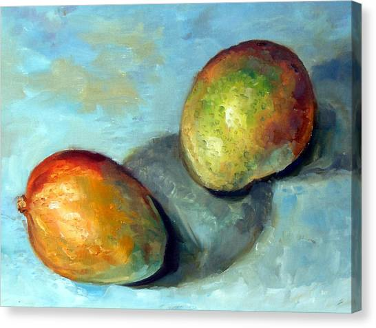Orange Canvas Print - Mango's by Mark Hartung