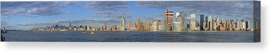 Manhattan - Hudson View Canvas Print