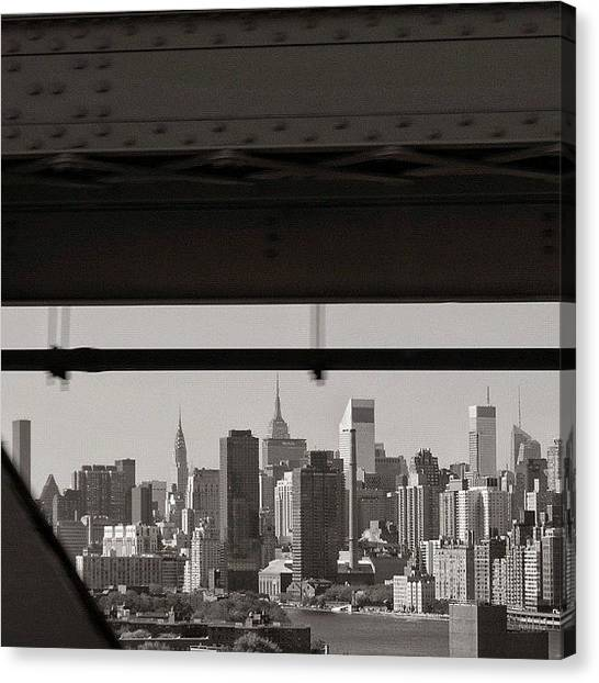 Skylines Canvas Print - Manhattan - New York by Joel Lopez