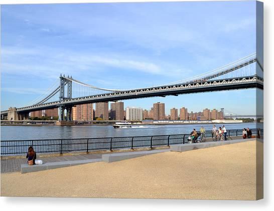 Manhattan Bridge1 Canvas Print