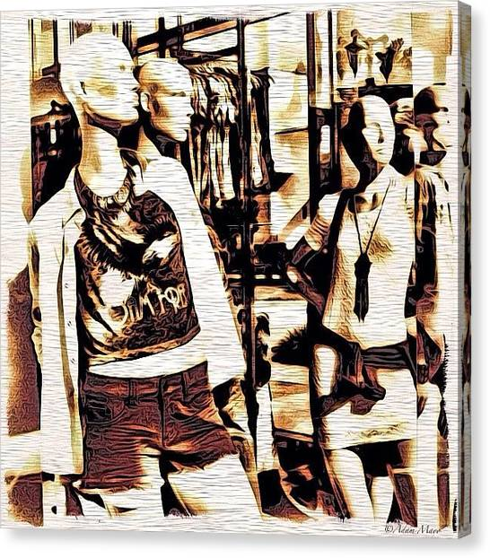 Big Sky Canvas Print - Mannequin Party - All Dressed And by Photography By Boopero