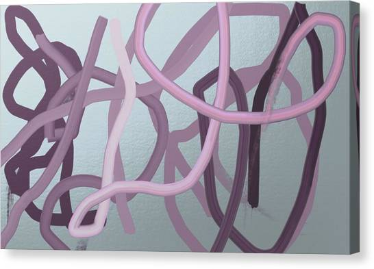 Many Strands -- One Knot Canvas Print