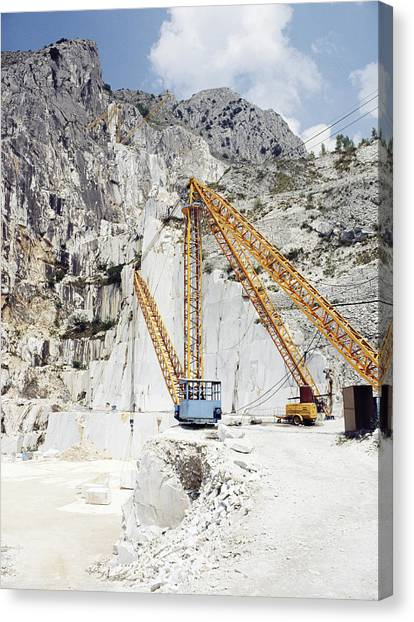 Marble Quarry Canvas Print by Dirk Wiersma