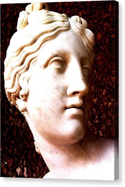 Marble Sculpture Canvas Print by Paul Washington