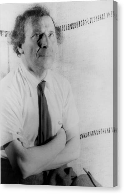Jewish Painter Canvas Print - Marc Chagall 1887-1985, Painter by Everett
