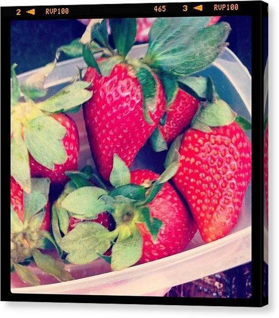 Mars Canvas Print - #marchphotoaday Day 2: Fruit. My by Deirdre Mars