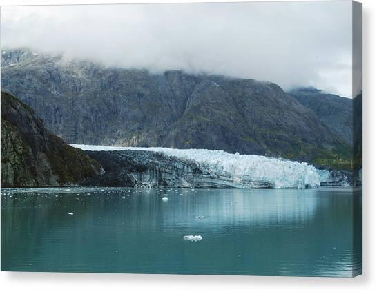 Margerie Glacier Canvas Print - Margerie Glacier 2 by Michael Peychich