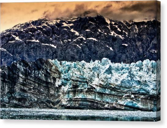 Margerie Glacier Canvas Print - Margerie Glacier by Jarrod Erbe