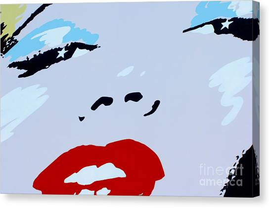 Marilyn Monroe 1 Canvas Print by Micah May