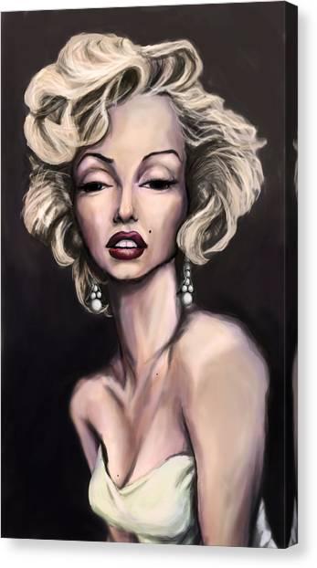 Marilyn Monroe Canvas Print by Tyler Auman