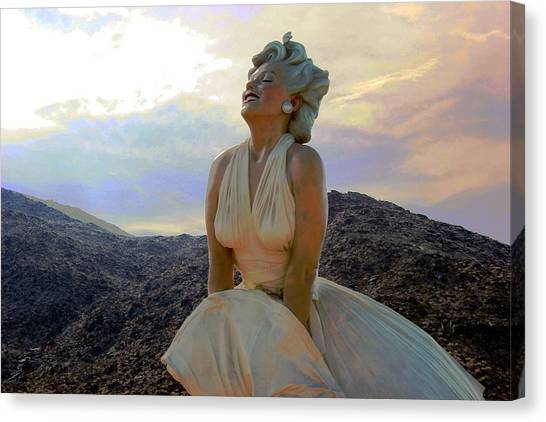 Marilyn's Euphoria Canvas Print