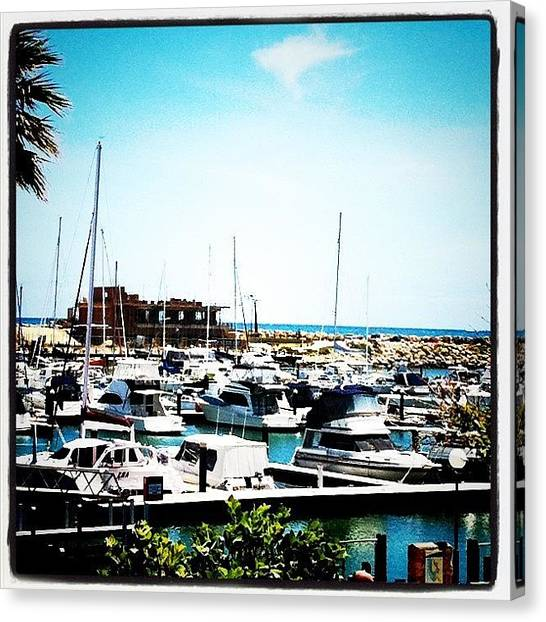Harbors Canvas Print - #marina #australia #westernaustralia by Kirk Roberts