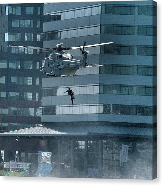 Helicopters Canvas Print - Marines In Action #fotografiaunited by Etienne Kramer
