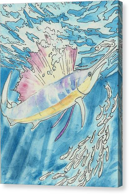 Marlin Canvas Print