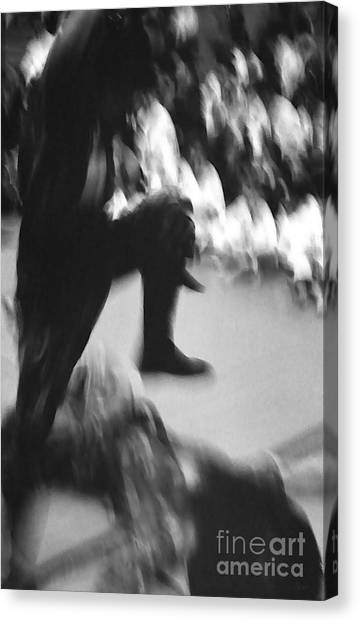 Taekwondo Canvas Print - Martial Arts 2 by Jeff Breiman