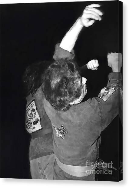 Taekwondo Canvas Print - Martial Arts 3 by Jeff Breiman