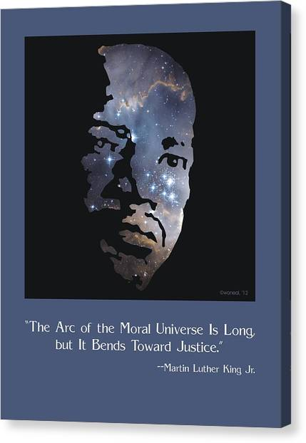 Martin Luther King, Jr. Poster Canvas Print