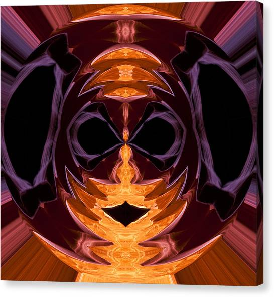 Illegal Aliens Canvas Print - Mask by Gregory Scott