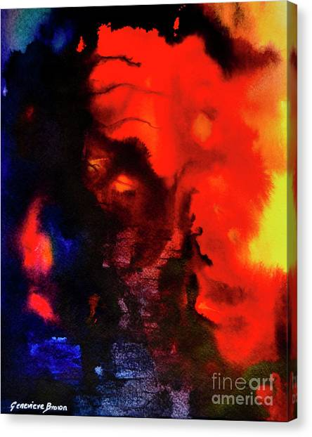 Masked Illusion Canvas Print