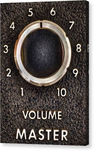 Speakers Canvas Print - Master Volume by Scott Norris