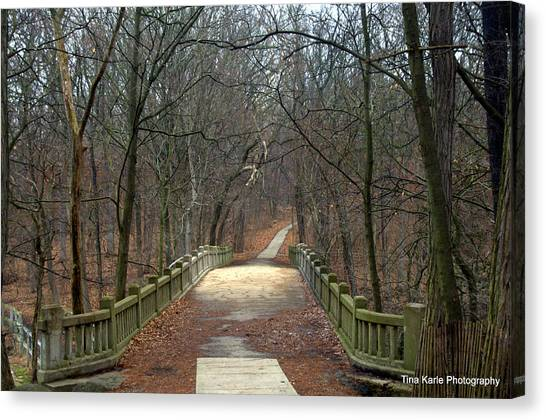 Mattheson State Park Canvas Print by Tina Karle