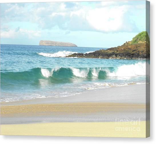 Maui Hawaii Beach Canvas Print
