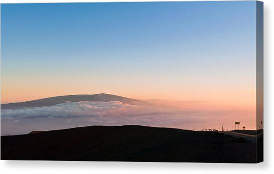 Mauna Loa Sunset Canvas Print
