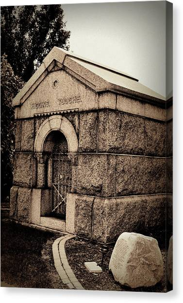 Mausoleum Of Memories Canvas Print