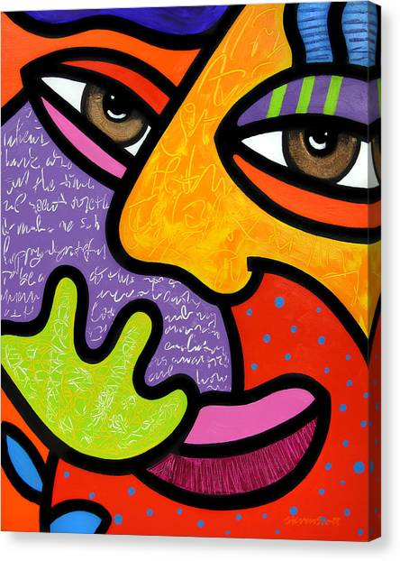 Maxine Canvas Print