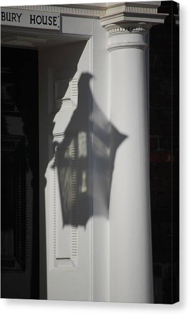 Mayfair Shadows Canvas Print by Dickon Thompson