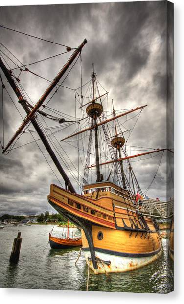 Mayflower II Canvas Print