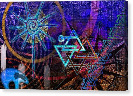Mazes Canvas Print