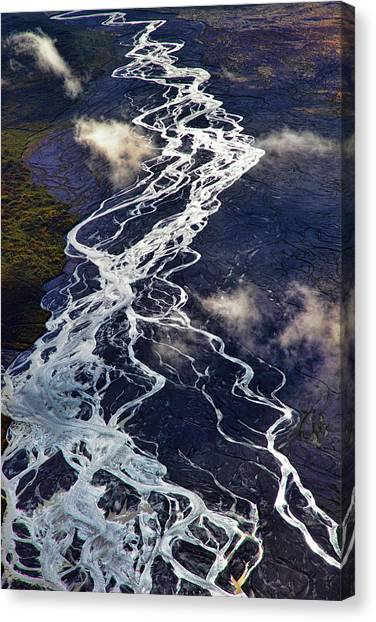 Denali Canvas Print - Mckinley Quicksilver by Rick Berk