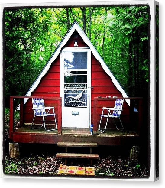 Ontario Canvas Print - Me Bunkie @ Georgian Bay by Samantha Blanchette