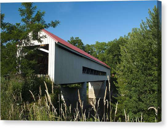 Mechanicsville Road Bridge Canvas Print