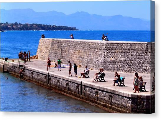 Mediterranean Landscapes Canvas Print by Eire Cela