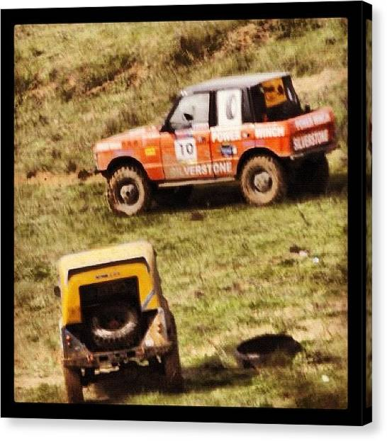 Offroading Canvas Print - Meeting by Cem Koronel