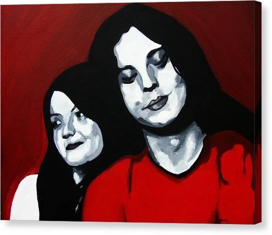 Meg And Jack Canvas Print