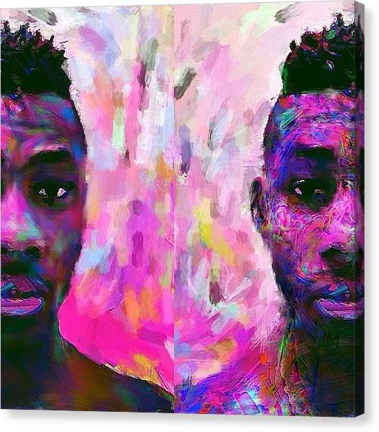 Fauvism Canvas Print - Mellow Me. #painting #art #me #myself by Aaron Moses