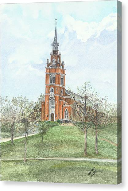 Memorial Chapel  Canvas Print