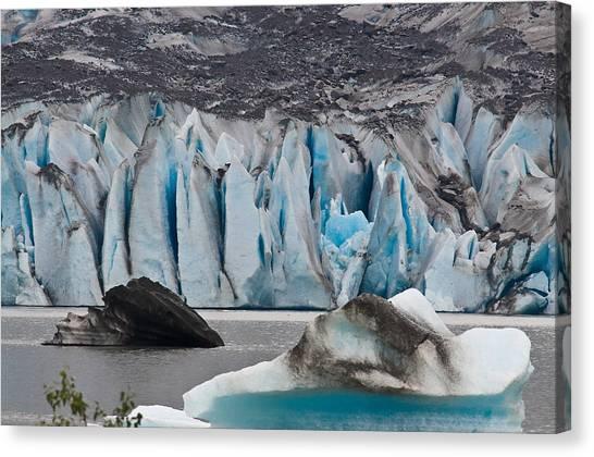 Mendenhall Glacier Juneau Alaska 1698 Canvas Print