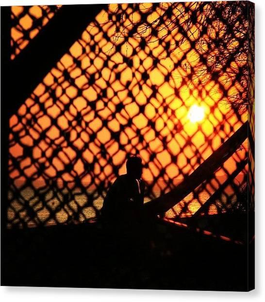 Landscapehunter Canvas Print - Menjaring Sunset #sunset #sunset_lovee by Gede Eka Darmaya