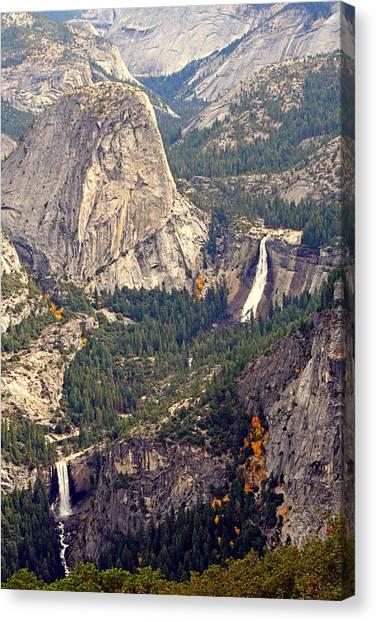 Merced River Canyon Canvas Print