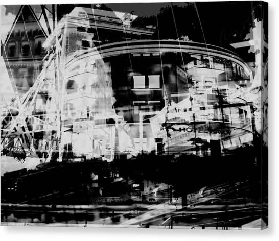 Metropolis Nacht Canvas Print